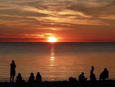 a-sunset