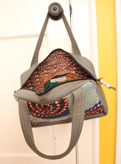 new bag inside