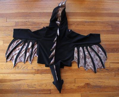a-costume back